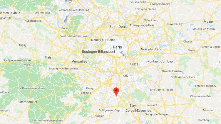 Morsang-sur-Orge, dans l'Essonne. (GOOGLE MAPS)