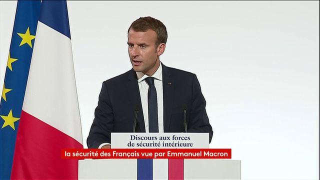 """Enregistrements, plaintes à distance... """"À l'heure du smartphone et d'internet"""", Macron annonce la modernisation de la procédure judiciaire"""