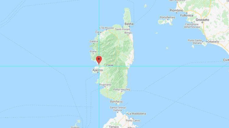 Calcatoghju (Corse-du-Sud). (CAPTURE D'ÉCRAN / GOOGLE MAPS)