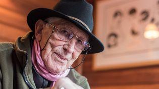 Tomi Ungerer à Strasbourg. Il fêtera ses 85 ans le 28 novembre 2016  (PATRICK SEEGER/dpa  PATRICK SEEGER / DPA / AFP)