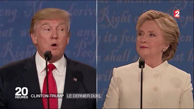 Hillary Clinton passe sereinement le dernier débat