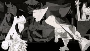 """""""Guernica"""" le chef d'oeuvre de Pablo Picasso  (France2/culturebox/)"""