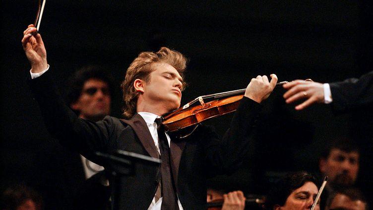 Le violoniste Renaud Capuçon se se produira lors de la cérémonie. (FRANK PERRY / AFP)