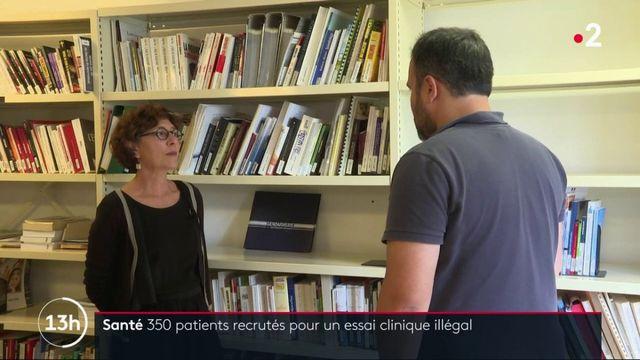 Santé : 350 patients recrutés pour un essai clinique illégal