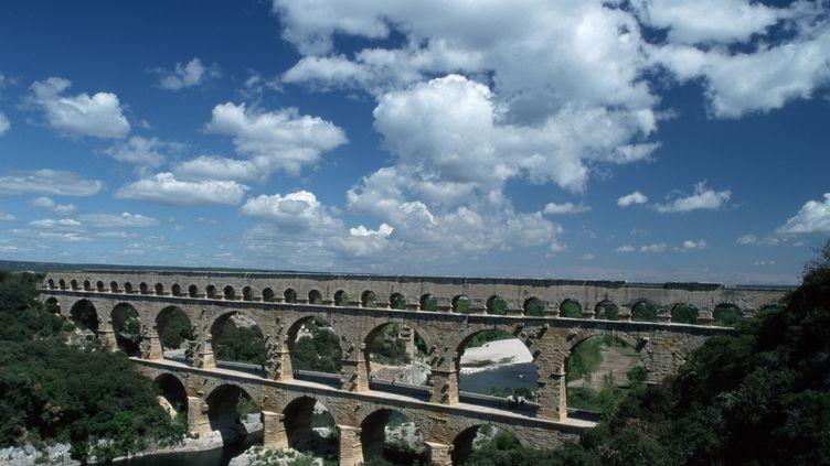 Le pont du Gard, en septembre 2013. (  MAXPPP)