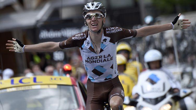 Sixième du Tour de France 2014, Romain Bardet a remporté une étape sur le Dauphiné 2015 (ERIC FEFERBERG / AFP)