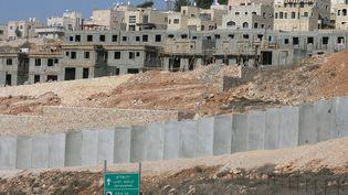 Une colonie israélienne près de Bethléem (Cisjordanie), le 11 novembre 2010. (HAZEM BADER / AFP)