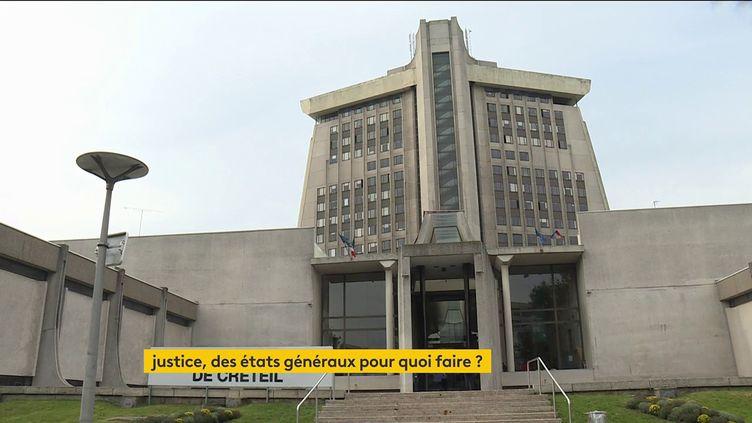 Le tribunal de Créteil (Val-de-Marne) (FRANCEINFO)