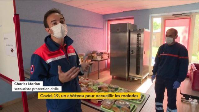 Coronavirus : un château pour accueillir les malades