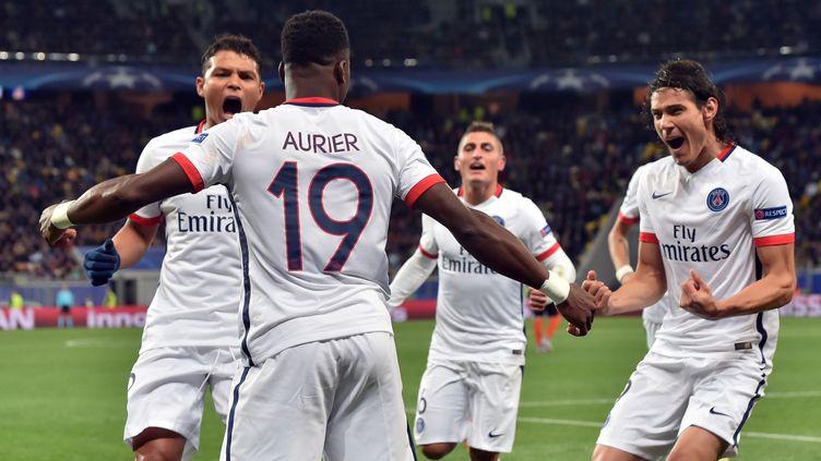 Serge Aurier a brillé pour son premier match en Ligue des champions  (SERGEI SUPINSKY / AFP)