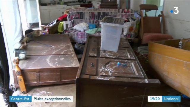 Intempéries : des pluies diluviennes et d'importants dégâts dans le centre-est