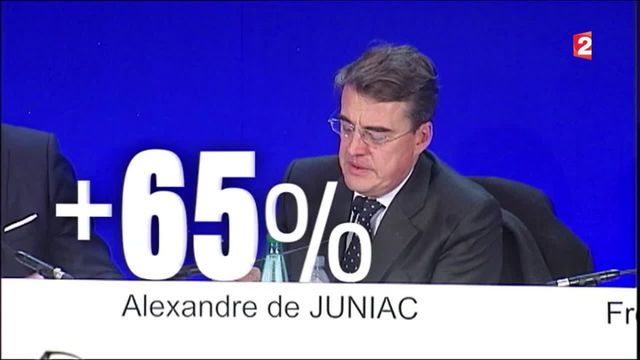 Air France : l'augmentation de 65% du PDG fait polémique
