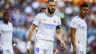 Face au FC Barcelone, le dimanche 24 octobre 2021, le Real Madrid de Karim Benzema s'est imposé (2-1). (XAVIER BONILLA / NURPHOTO)