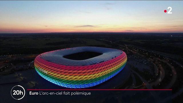 Euro 2021 : à Munich, l'arc-en-ciel en soutien à la communauté LGBT fait polémique