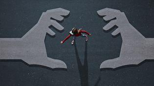 Le philosophe ÉricSadinexplique comment depuis20 ans, nous avons été dépossédés de nous-mêmes alors que les technologiesnous donnent l'illusion de la toute-puissance(Illustration) (GETTY IMAGES)