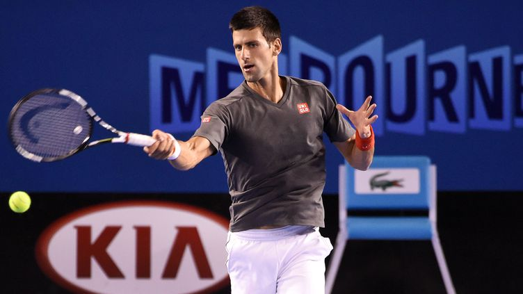 Novak Djokovic tentera de s'imposer pour la 5e fois à Melbourne (WILLIAM WEST / AFP)