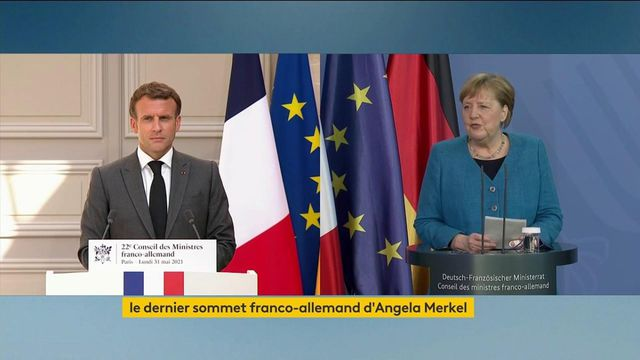 Europe: dernier Conseil des ministres franco-allemand pour Angela Merkel
