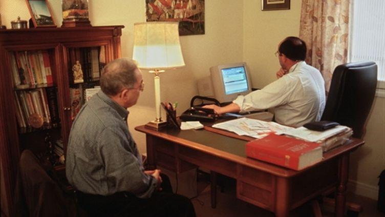 Consultation chez un généraliste de Vitry-Sur-Seine,. (AFP/MARC LE CHELARD)