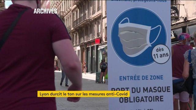 Rhône : Lyon durcit le ton sur les mesures anti-Covid