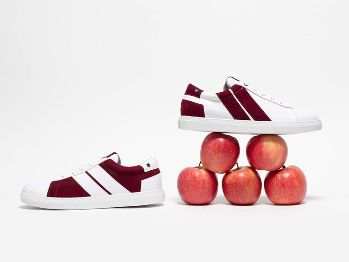Baskets Caval en cuir de pommes (DR)