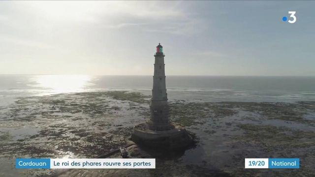 Cordouan : le roi des phares rouvre ses portes