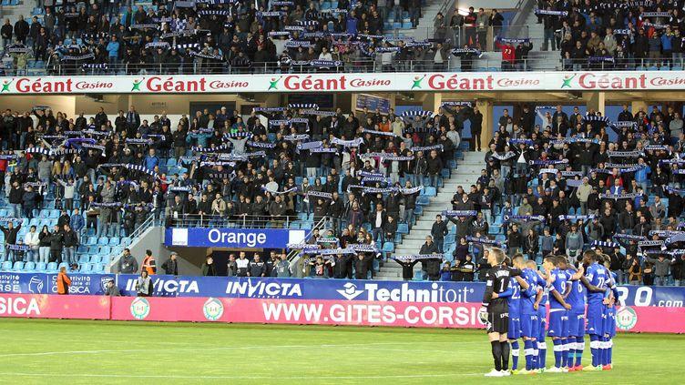 Les tribunes du stade de Furiani  (PASCAL POCHARD-CASABIANCA / AFP)