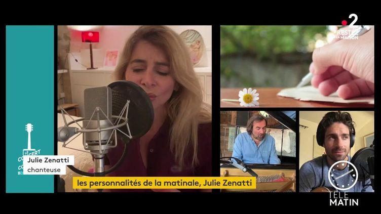 Julie Zenatti (France 2)