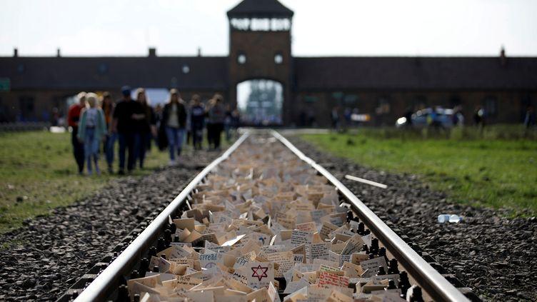 Le camp de concentration d'Auschwitz-Birkenau (Pologne), le 7 novembre 2019. (KACPER PEMPEL / REUTERS)