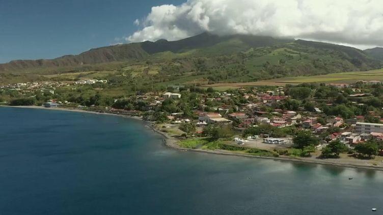 Les Martiniquais espèrent que la montagne Pelée entrera au patrimoine mondial de l'Unesco. (CAPTURE ECRAN FRANCE 3)