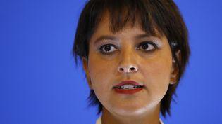 La ministre de l'Éducation nationale, Najat Vallaud-Belkacem, le 29 août 2016. (PATRICK KOVARIK / AFP)