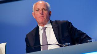 Thierry Peugeot, président du conseil de surveillance de PSA, le 7 mai 2013, à Paris. ( MAXPPP)