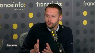 David Belliard, président du groupe EELV. (FRANCEINFO)