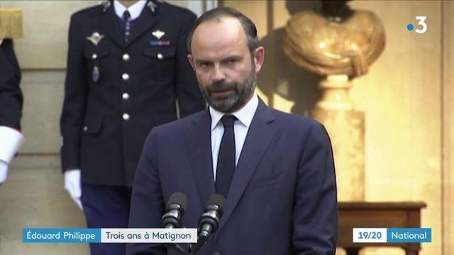 Édouard Philippe : trois années à Matignon, au rythme des crises