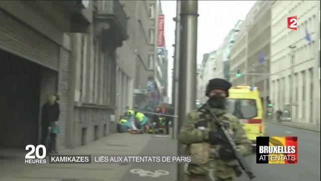 Attentats de Bruxelles : les trois kamikazes de l'aéroport et du métro identifiés