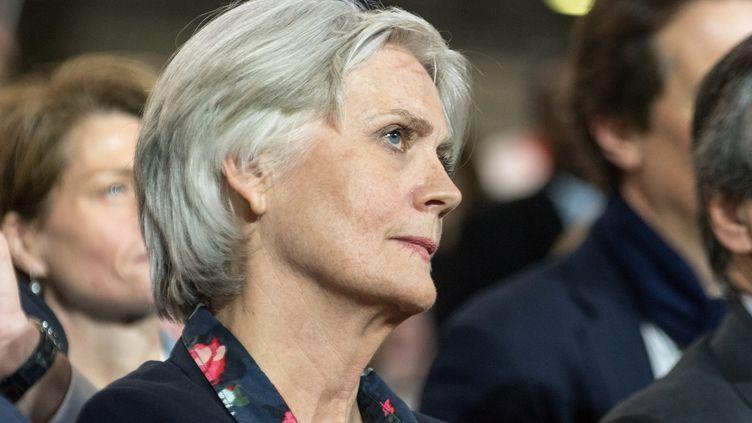 Penelope Fillon au meeting du candidat Républicain, à Paris, le 29 janvier 2017. (CITIZENSIDE / AFP)