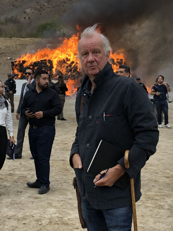 Ed Vulliamy, président du jury de la 27e édition du Prix Bayeux - Tijuana, octobre 2019 (Jorge Fregoso)