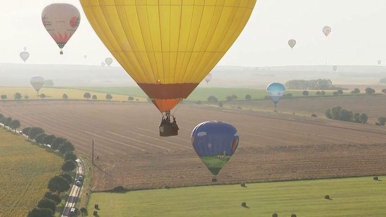 Meurthe-et-Moselle : danse des montgolfières pour le Mondial Air Ballons (France 2)