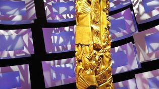 La sculpture créée par César, trophée du cinéma français  (PATRICK KOVARIK/AFP)