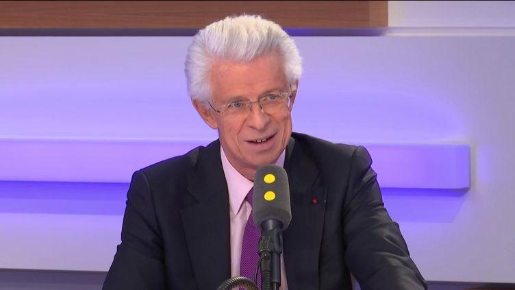 Didier Kling, président de la Chambre de commerce et d'industrie de Paris Île-de-France. (FRANCEINFO / RADIOFRANCE)