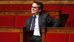 Thomas Thévenoud, anciensecrétaire d'Etat chargé du Commerce extérieur, le 28 novembre 2014 à l'Assemblée nationale. (CHARLES PLATIAU / REUTERS)