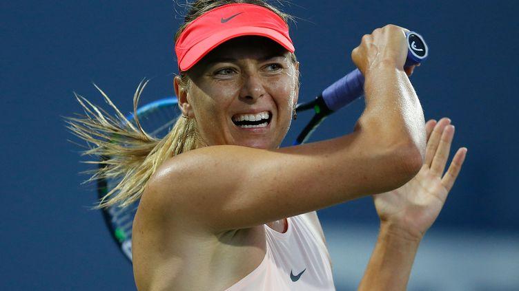 La tenniswoman russe Maria Sharapova (LACHLAN CUNNINGHAM / GETTY IMAGES NORTH AMERICA)