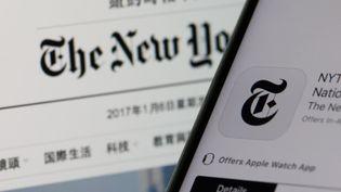"""Le """"New York Times"""" va déménager l'an prochain un tiers de ses employés installés à Hong Kong vers Séoul (Corée du Sud). (JAAP ARRIENS / NURPHOTO / AFP)"""