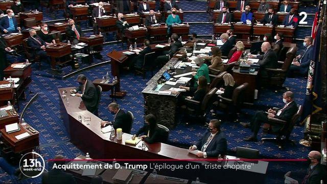 Procédure de destitution de Donald Trump : le Sénat prononce l'acquittement