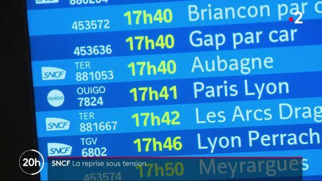 SNCF : reprise sous tension