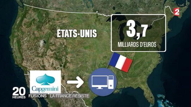 Le pari est reussi pour les entreprises françaises qui ont fusionné