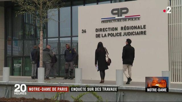 Incendie de Notre-Dame : l'enquête se poursuit