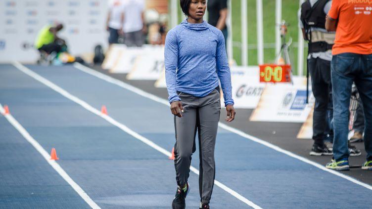 Vice-championne olympique du 100m à Londres en 2012, en bronze sur 200m et en or en relais, Carmelita Jeter est forfait pour les Jeux de Rio (JAYSON BRAGA / BRAZIL PHOTO PRESS)