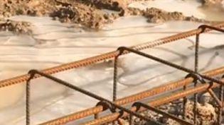 chantier gelé (France 3)
