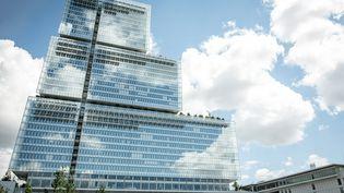 Le nouveau palais de justice de Paris, le 6 juin 2019, situé dans le quartier des Batignolles. (MAXPPP)