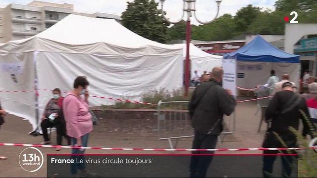 Coronavirus: avec 120 foyers actifs, le virus circule toujours en France